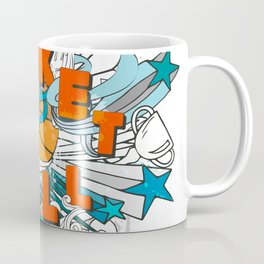 Basketball cartoon design Coffee Mug