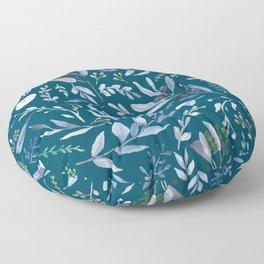 Eucalyptus Blue Floor Pillow