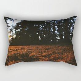 Fall's Last Light Rectangular Pillow