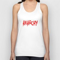anarchy Tank Tops featuring ANARCHY by lucborell