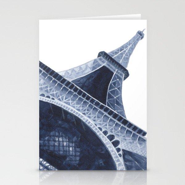 Bleu Eiffel Tower Stationery Cards