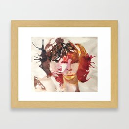 Love Me 2 Times Framed Art Print