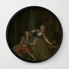 William Hogarth - Before Wall Clock
