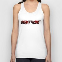 depeche mode Tank Tops featuring Beast Mode by Gym Worthy