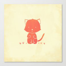 Happy Cat Canvas Print