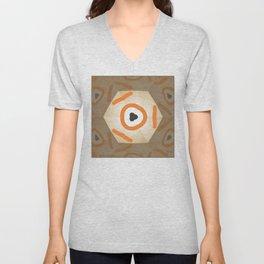 kaleidoscope Unisex V-Neck