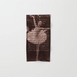 Ballerina III (brown edition) Hand & Bath Towel
