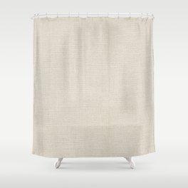 Farmhouse Burlap Shower Curtain
