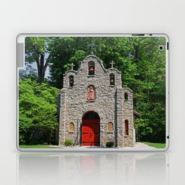 Lourdes University-  Portiuncula  Chapel in the Spring I Laptop & iPad Skin
