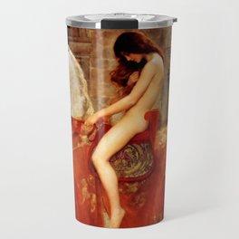 "John Collier ""Lady Godiva"" Travel Mug"