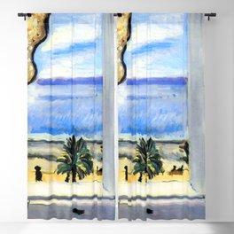 Henri Matisse Open Window at Nice Blackout Curtain