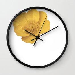 Buttercup Cutout Wall Clock