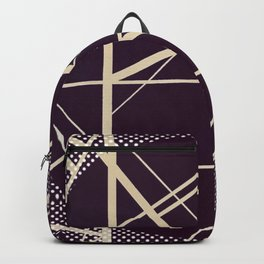 Crossroads - dot circle Backpack