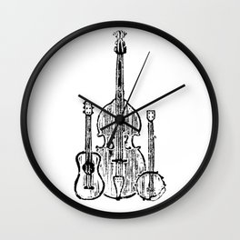 The Country Brothers Wall Clock
