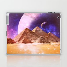 Galaxy Pyramids Laptop & iPad Skin