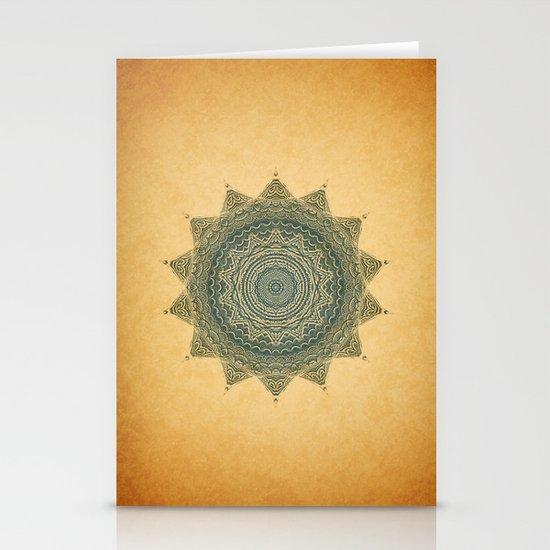 Sun Symbol Stationery Cards