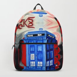 British Blue Police Public Call Box - Nexus 16 Backpack