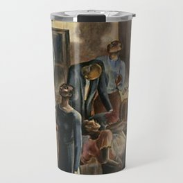 Classical African American Landscape 'Oh, Lord Jehovah, in Heaven' by Charles Alston Travel Mug