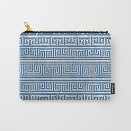 Greek Meander Pattern - Greek Key Ornament Carry-All Pouch
