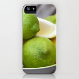 Lemon Fresh iPhone Case