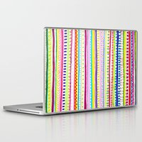 anxiety Laptop & iPad Skins featuring Summer Anxiety by Chris Klemens
