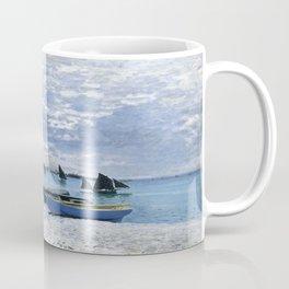 Claude Monet : Regatta at Sainte-Adresse / The Beach at Sainte Adresse Coffee Mug