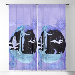 THE WATER MAGICIAN Blackout Curtain