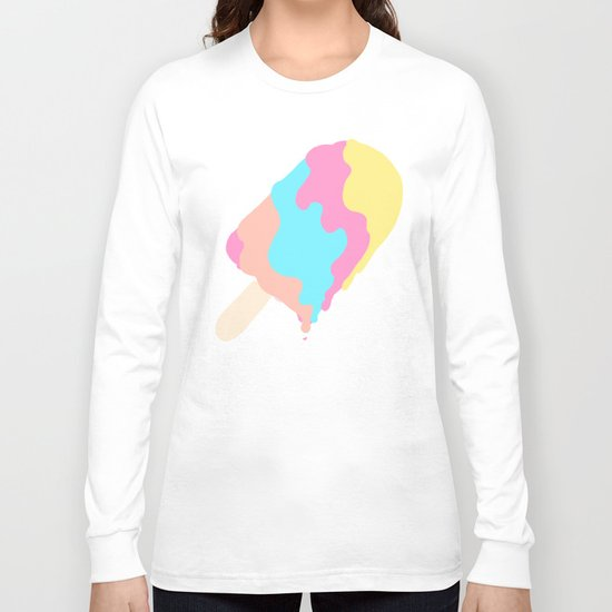 Popsicle Illusion Long Sleeve T-shirt