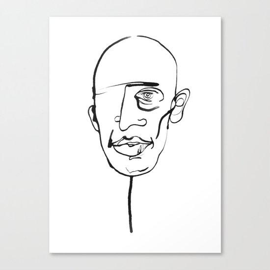 FACES / 006 Canvas Print