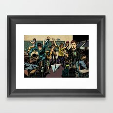 Forever the Sickest Kids Framed Art Print