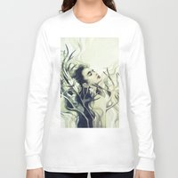 stag Long Sleeve T-shirts featuring Stag by Anna Dittmann