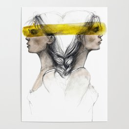 Twins sisters soulmates Poster