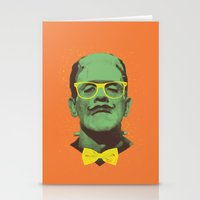 frank Stationery Cards featuring Mr Frank by Victor Vercesi