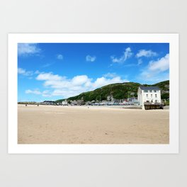 House By The Sea | Seaside Photography Art Print