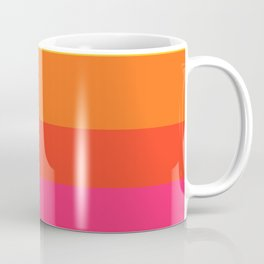 Earth and Summer Sky - Color Strips - Colors of Travel Coffee Mug
