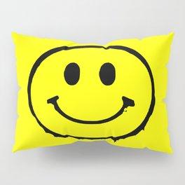 smiley face rave music logo Pillow Sham
