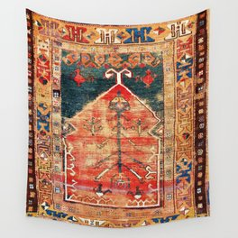 Konya Central Anatolian Niche Rug Print Wall Tapestry