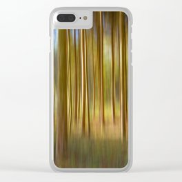 Concept nature : Magic woods Clear iPhone Case
