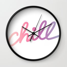 But first... Wall Clock