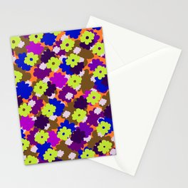 Fall Fun Flowers Stationery Cards