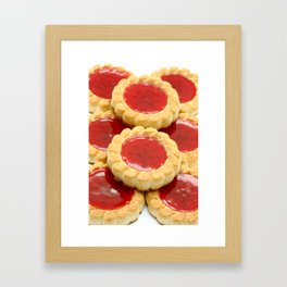High calorie food Framed Art Print