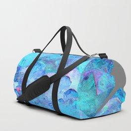 AURAL BLUE CRYSTALS ART Duffle Bag