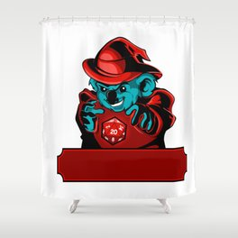 Cartoon koala Wizard Shower Curtain