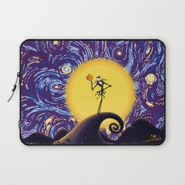 skellington king Laptop Sleeve