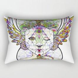 Visualize Healing Rectangular Pillow