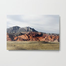 Colorful Mountain Terrain Metal Print