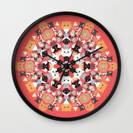 Catleidoscope Wall Clock