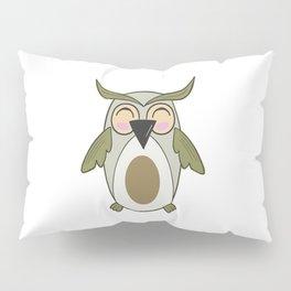 Owl - Nightbird Bird Nocturnal Pillow Sham