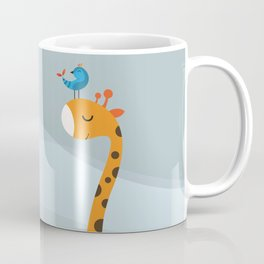Orange And Blue Coffee Mug