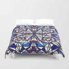 Blue purple dreams Duvet Cover